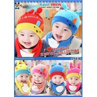 Bộ mũ yếm cho bé nhiều hình đáng yêu - MS01