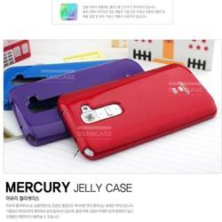 Ốp lưng LG G2, Dẻo, nhiều màu, hiệu MERCURY