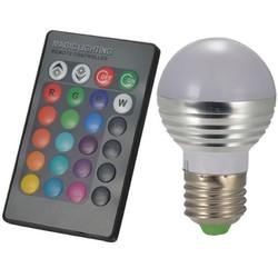 Bóng đèn LED đổi màu có điều khiển từ xa RGBLED-3