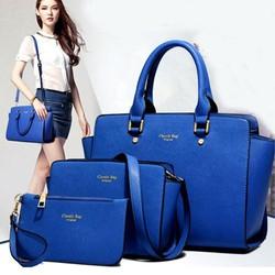Túi xách bộ ba lassic bag hàng quốc trẻ trung năng động-157