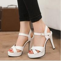 C018T - Giày Cao Gót Nữ Thời Trang