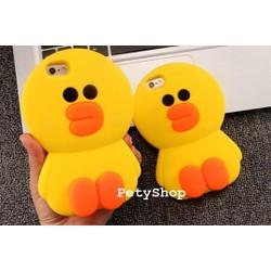 Ốp Vịt B Duck 3D iPhone 5 5S 6 6S 6 Plus 6S Plus
