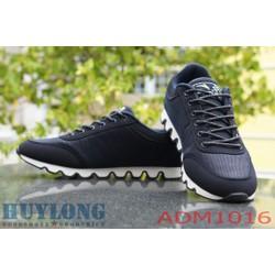 Giày đế sóng 3 sọc xanh đen tuyệt đẹp