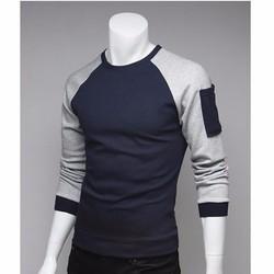 Áo thun tay dài tay phối mẫu mới 2015 - BTD411