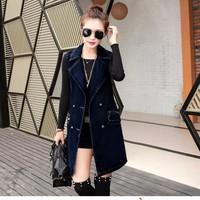 áo khoác jean dáng dài