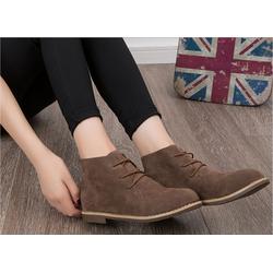 Giày boot dạng Oxford