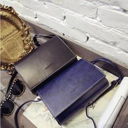 Túi đeo chéo phong thư thời trang retro màu pastel