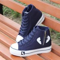 BM013T - Giày Bánh Mì Cổ Cao