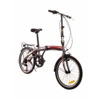 Xe đạp gấp ESE - Đen Đỏ