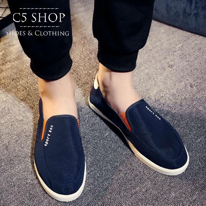 SC 283 - Giày lười Hàn Quốc cá tính cực HOT 12