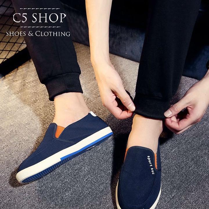 SC 283 - Giày lười Hàn Quốc cá tính cực HOT 11