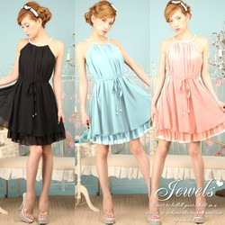 Đầm Yếm Ngọc Trai Cách Điệu DDP08325
