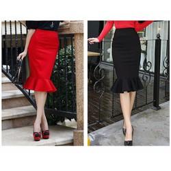 Chân váy dáng đuôi cá thời trang