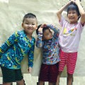 Combo 3 quần thun kẻ sọc cho bé