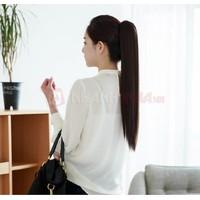 Đuôi tóc giả nối thẳng, dày mượt Hàn Quốc kèm kẹp tóc