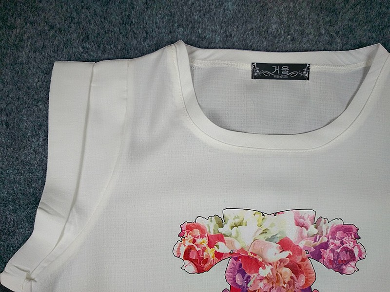 hình thật- áo kiểu tay liền tb0112 3