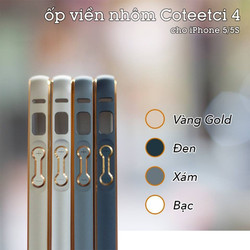 Viền nhôm cho Iphone 5, iphone 5s hiệu Coteetci