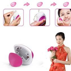 Máy massage và rửa mặt MYM kèm 9 bông dưỡng da