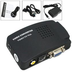 Bộ chuyển đổi Svideo, Video sang VGA, AV to VGA
