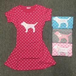 Đầm ngủ họa tiết Pink  cực xinh - ĐN32