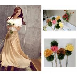 Thắt lưng dây Nịt hoa Hàn Quốc II - HKTL010