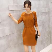 Đầm liền phong cách Hàn Quốc DS210