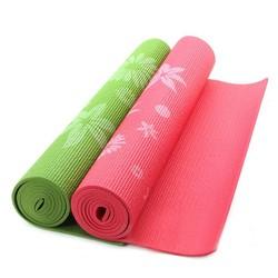 Thảm tập yoga có hoa văn cao cấp kèm túi đựng