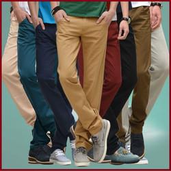 Quần kaki nam ống côn có đủ màu sắc cho bạn lựa chọn giá rẻ