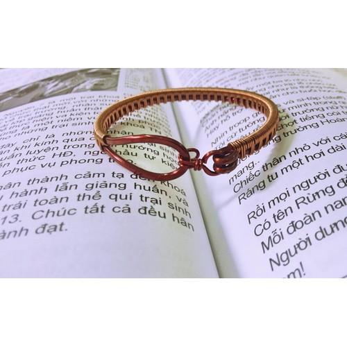 Vòng tay handmade dây đồng