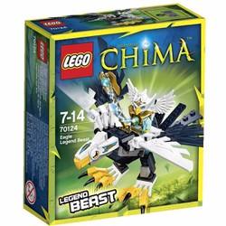 Bộ lắp ráp Chim ưng huyền thoại - Lego Chima 70124 Eagle Legend Beast