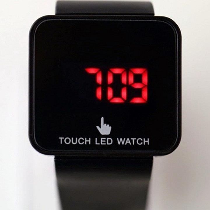 đồng hồ led cảm ứng chông nước 2