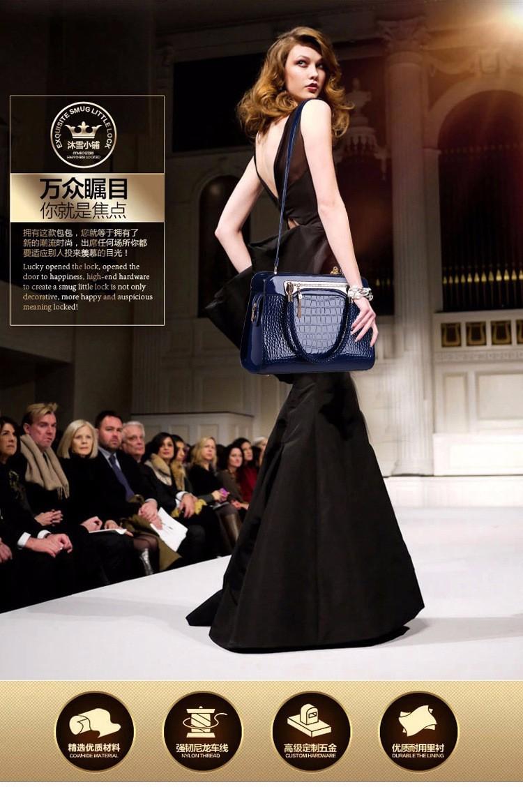 Hàng nhập cao cấp: Túi xách nữ thiết kế vân cá xấu 1