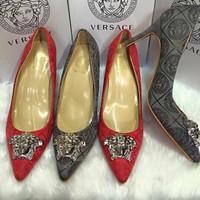 Giày cao gót Versace