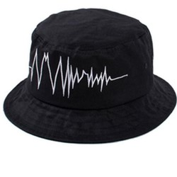 nón mũ bucket trái tim lỗi nhịp  thời trang mới 2015