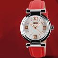 Đồng hồ SKMEI Color nữ dây da chống nước SK016