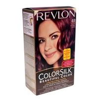 Thuốc nhuộm tóc Revlon Colorsilk Mỹ Burgundy 48