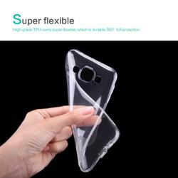Ốp lưng silicon trong suốt Samsung Galaxy E5 hiệu Nillkin