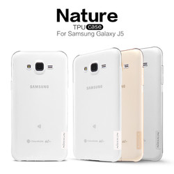 Ốp lưng Samsung Galaxy J5 , silicon trong suốt - hiệu Nillkin