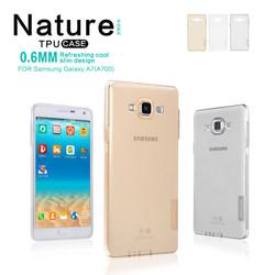Ốp lưng silicon trong suốt Samsung Galaxy A7 hiệu Nillkin