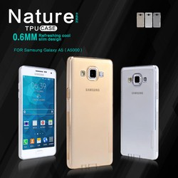 Ốp lưng silicon trong suốt Samsung Galaxy A5 hiệu Nillkin