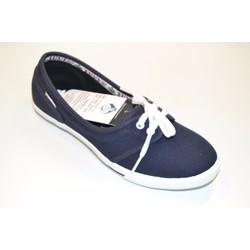 Giày búp bê xanh đen