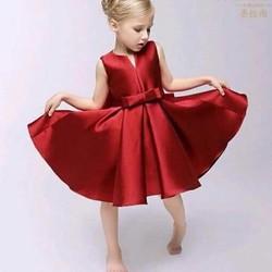 Đầm Noel dạ hội nơ eo