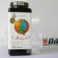 Viên uống Collagen Advanced tuýp 1 2 3, vitamin C - Hộp 390 viên
