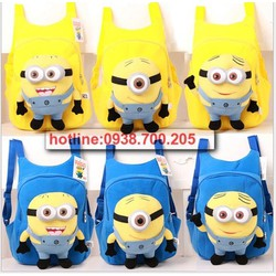 Balo trẻ em dễ thương Minions 001