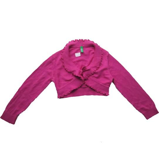 Áo khoác len lửng Benetton cho bé gái 1-12T 1