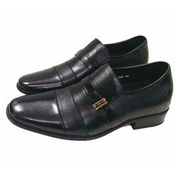 Giầy tăng chiều cao da thật kiểu dáng giầy Italya AD333D