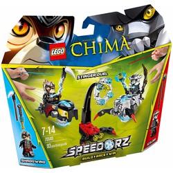 Bộ lắp ráp Nọc độc Bọ cạp - Lego Chima 70140 Stinger Duel