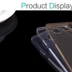 Ốp lưng silicon trong suốt Samsung Galaxy E7 hiệu Nillkin
