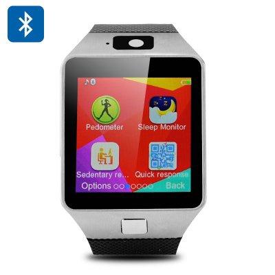 Đồng hồ điện thoại DZ09 và tai nghe bluetooth S1000 1