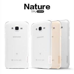Ốp lưng silicon trong suốt Samsung Galaxy A8 hiệu Nillkin